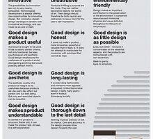 10 Principles of Good Design by teslacake