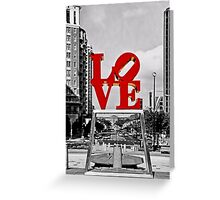 City Of Brotherly LOVE Greeting Card