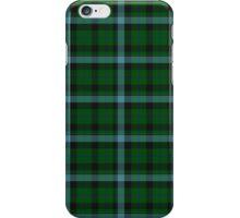 Green Blue Striped Plaid Tartan Pattern iPhone Case/Skin