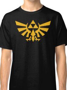 Royal crest The Legend of Zelda Triforce Video Game Logo Classic T-Shirt