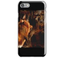 Alpha Male, Wolf Challenge, Battling Wolves iPhone Case/Skin
