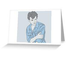 Blue Louis Greeting Card