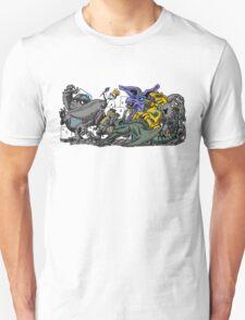 Where the Wild Pacific Rim Kaiju Are T-Shirt