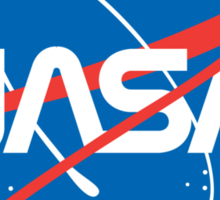 NASA Future Retro Sticker