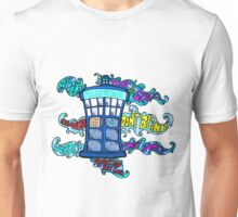 Tardis sounds off Unisex T-Shirt