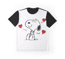 Snoopy In Love Graphic T-Shirt