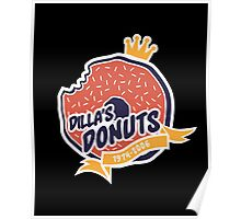 Dilla's Donut Poster