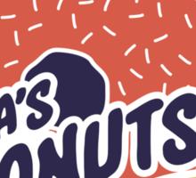 Dilla's Donut Sticker