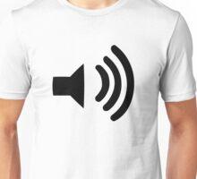 Sound Volume Symbol Unisex T-Shirt