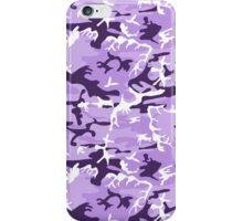 Light Purple Camo iPhone Case/Skin