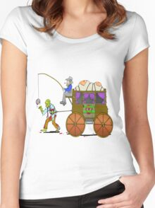 Zombie Express Women's Fitted Scoop T-Shirt