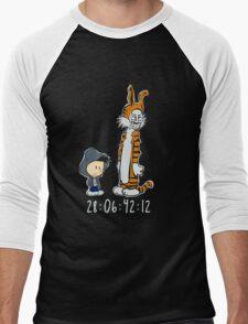 Darko & Hobbes Men's Baseball ¾ T-Shirt