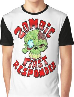 Zombie First Responder Graphic T-Shirt