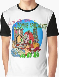 Twas the Night before.....Zombie Christmas Graphic T-Shirt