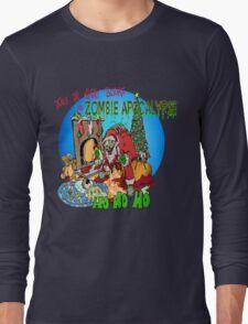 Twas the Night before.....Zombie Christmas T-Shirt