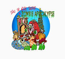 Twas the Night before.....Zombie Christmas Unisex T-Shirt