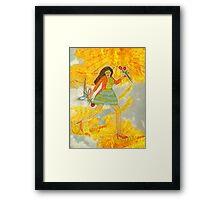 I'm Walking On Sunshine Framed Print
