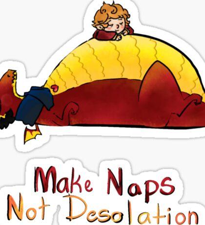 Make naps, Not Desolation Sticker