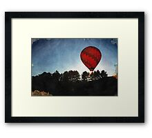 Catch the Wind Framed Print