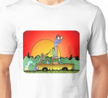 Looks Clear of Zombies Unisex T-Shirt
