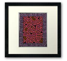 Spirals x3 Framed Print