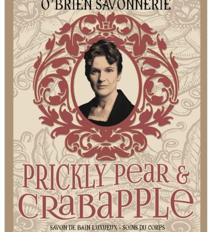 Downton Abbey Inspired - O'Brien Soap - Lady's Maid Miss O'Brien of Downton Abbey Sticker