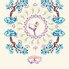 yoga garden V by ecrimaga