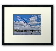 Queens Birthday Flypast 4 - The Reds Over London -  15.06.2013 Framed Print