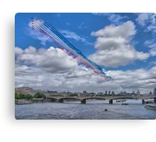 Queens Birthday Flypast 4 - The Reds Over London -  15.06.2013 Canvas Print