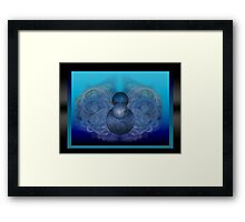 ©DA In Movement Fractal Framed Print