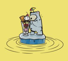Summer Polar Bear : Sundae by petoizky