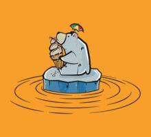 Summer Polar Bear : Melty Soft Serve by petoizky