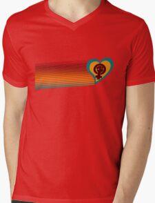 Retro feminist symbol  Mens V-Neck T-Shirt