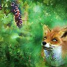 Sour grapes by Christina Brundage