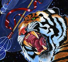 Space Tiger  by GraphicNerdity