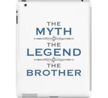 Myth Legend Brother iPad Case/Skin