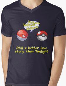 Voltorb Joke  (Pokemon Parody) Mens V-Neck T-Shirt