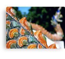 Naga scales  Canvas Print