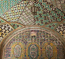 Glazed Tiles, Tehran, Iran by Jane McDougall