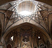 Bazaar Dome, Tehran, Iran by Jane McDougall