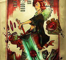 Game Transistor by Emily Sasaki