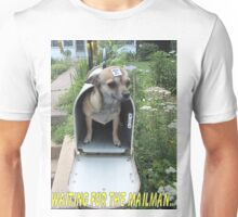 Waiting for the Mailman Unisex T-Shirt