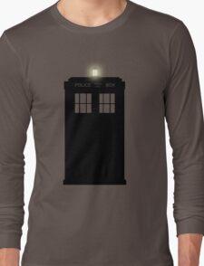 Doctor Who Dark Tardis Long Sleeve T-Shirt