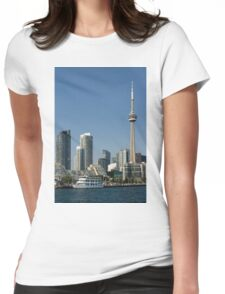Up Close And Personal - Toronto's Skyline From The Harbour Womens Fitted T-Shirt