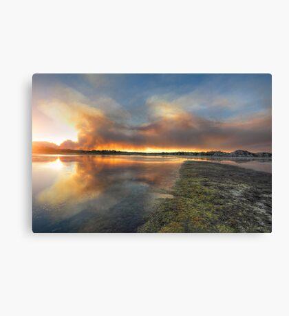 SmokeSwamp Canvas Print