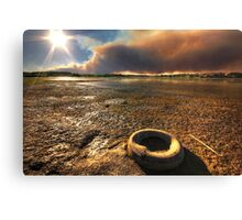 Tire Fire Canvas Print