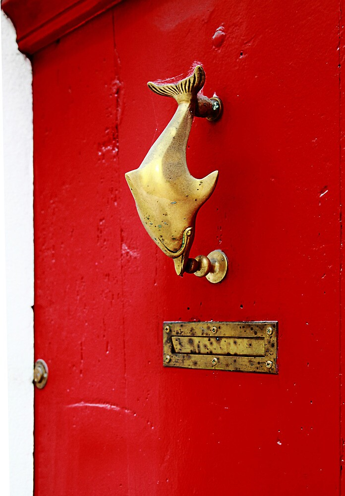 Knock knock. by Paul Pasco