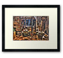 Rustic Kitchen Framed Print