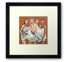 Costa women  Framed Print