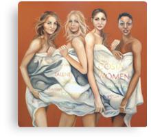 Costa women  Canvas Print